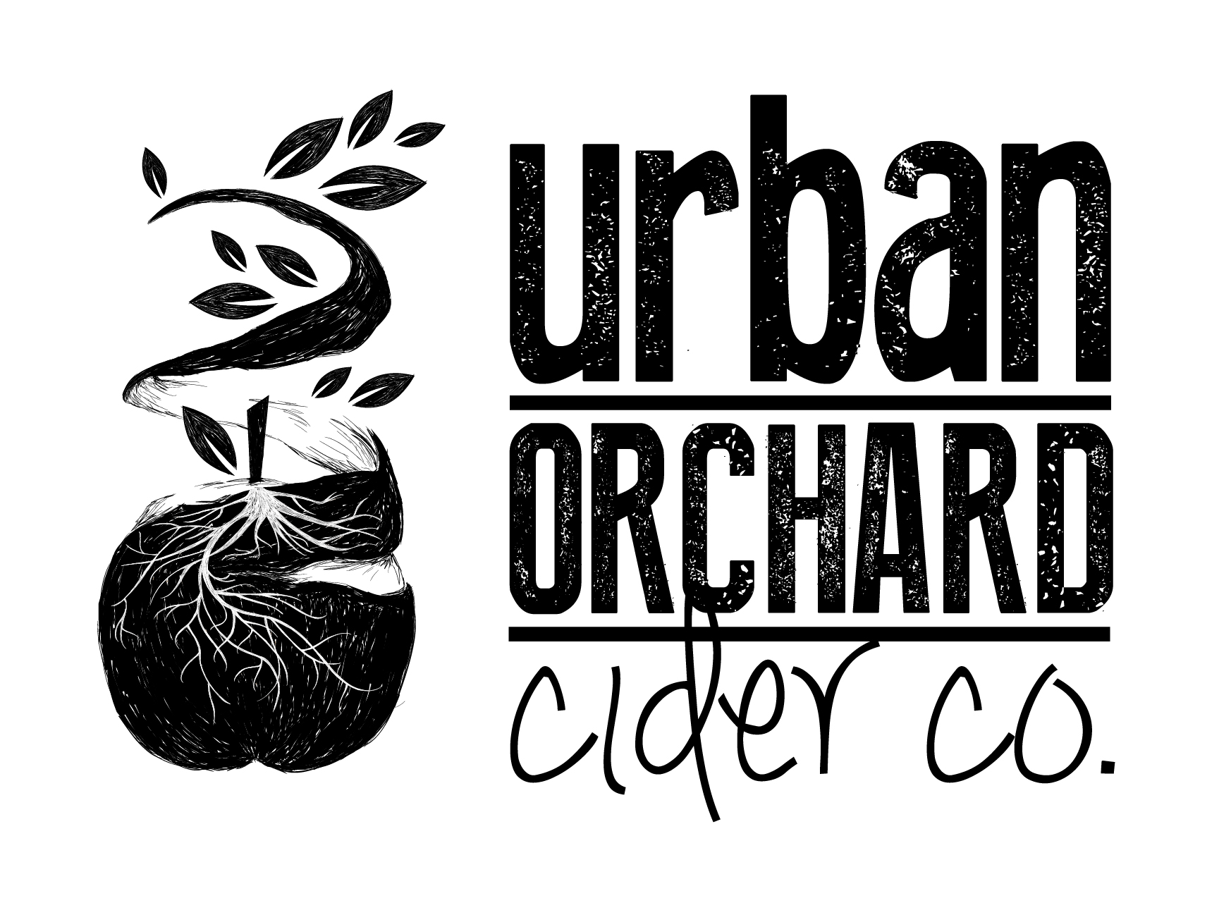 urbanorchard_logo_apple_sketch_final_horizontal_black