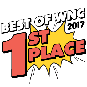 Cider in Ashville - Best of WNC 2017 - 1st Place